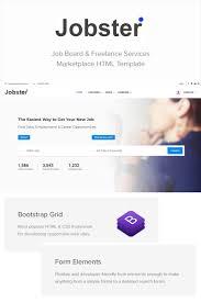 Career Page Design Templates Html Jobster Job Board Website Template 71496 Website