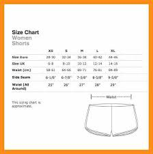 4 5 American Apparel Sizing Chart Memo Example