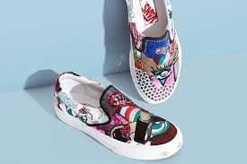 Vans Slip Ons Designs Marc Jacobs Blends Art With Fashion With His New Unwearable