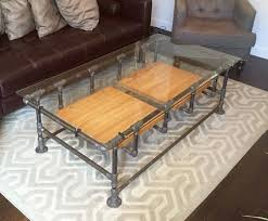 Industrial Pipe Coffee Table Pipe Coffee Table Etsy