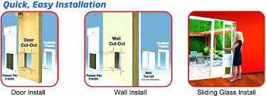 wall mount pet doors wall mount dog door through wall dog doors easy installation in doors