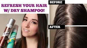 refresh oily limp hair batiste dry shampoo demo review