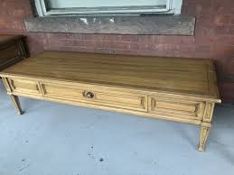 Less than one week after delivery, the springs. Vintage Thomasville 5ft Coffee Table Forgotten Furniture
