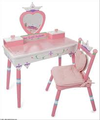 Inspiring Levels Of Discovery Princess Vanity Table And Chair Set Picture