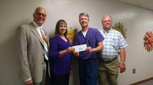 Barton County Medical Society makes donation to the Sr. Mary Ann Klein, OP  Nursing Endowment at the - GREAT BEND TRIBUNE
