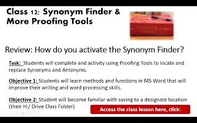 Synonym Finder Ex1 Brown B315