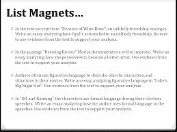 a deeper look at tda questions designed by reading center iu ppt  5 list magnets