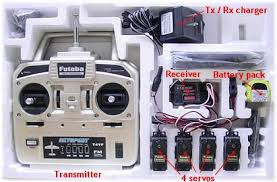 understanding radio control gear typical mhz 4 channel radio control gear as purchased