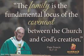 Pope Francis Quotes Magnificent The Family Is The Fundamental Locus Pope Francis Marriage Unique