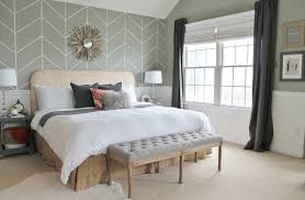 Rustic Chic Budget Friendly Master Makeover City Farmhouse - Master bedroom window treatments