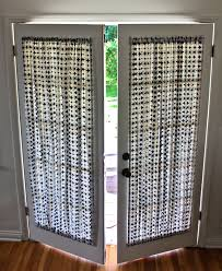 Window Treatments Metal Doors Window Treatments For French Doors Well Appointed Curtains Other