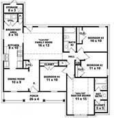 High Quality House Plans Story   Single Story House Plans        Impressive House Plans Story   Bedroom One Story House Plans