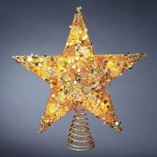 6Christmas Tree Lighted Star
