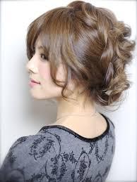 成人式の髪型画像2016振袖の人気編み込みアップヘアスタイル Stylistd