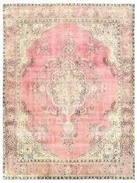 dusty pink rug we love this vintage gy area 9 x 6 feet bazaar 1