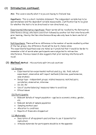 psychology lab report example hypothesis a good example of a best writers sites
