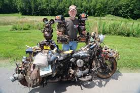 the rat king of flat lick kentucky and his classic harley rat