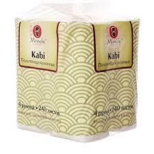 <b>Maneki Полотенца</b> кухонные <b>бумажные Sumi</b>-<b>e</b>, белые, 4 рулона ...