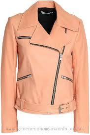 a l c leather biker jacket pink for women ctklrmbvn8pru