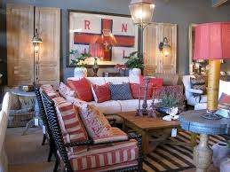 Red And Blue Living Room Decorating With Red White And Blue Red White Blue Living