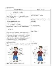 Detailed Lesson Plan in Science and Health Grade 3 Sense Organ ...