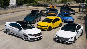 <b>VW</b> Unveils Fleet Of Tricked-Out Cars For SoWo 2019