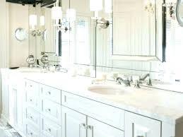 beveled wall mirror bathroom michaelfineme