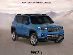 2018 jeep renegade trailhawk. contemporary trailhawk 2018 jeep renegade facelift front three quarters rendering in jeep renegade trailhawk