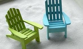 miniature adirondack chair by tablet desktop original size mini chairs miniature adirondack chair place card