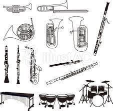 楽器白黒セットイラスト No 867648無料イラストならイラストac