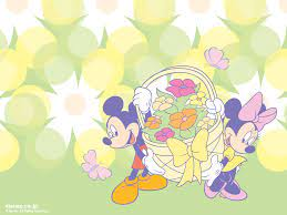 Mickey Mouse Easter Desktop Wallpaper ...
