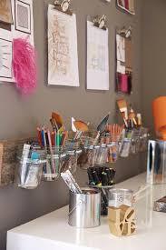 Acrylic Clipboards Over Desk