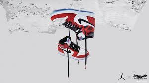 Air Jordan 1 Spiderman Wallpaper