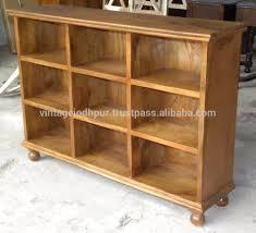 Wooden Shelf Designs India Indian Vintage Design Wooden Bookshelves And Display Unit Shelf Buy Solid Wood Bookshelf With 9 Drawer Solid Wood Bookcase Wall Units Buy Wooden
