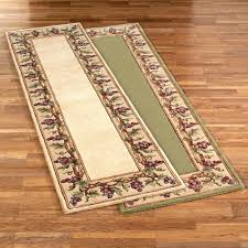 wine kitchen rugs rug sets motif