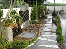 Small Picture Simple House Front Garden Ideas Image Of Yard Landscaping For