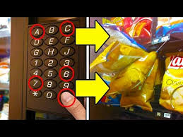 Trick Vending Machine Awesome GET FREE SNACKS FROM ANY VENDING MACHINE Life Hacks Get