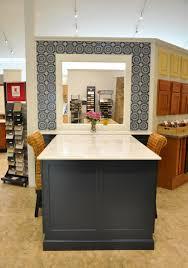 Kraftmaid Vanity Cabinets New Display In Midnight Blue Classic Kitchens Baths