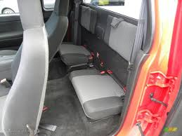 2007 Chevrolet Colorado LT Extended Cab Rear Seat Photo #67030356 ...