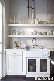 Small White Kitchen Kitchen Rustic Open Kitchen Shelving Ideas For Modern Kitchen
