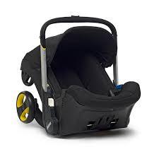 doona infant car seat stroller black