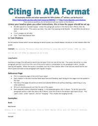 Sample Papers Apa Style 001 Apa Citation Format Sample Paper Museumlegs