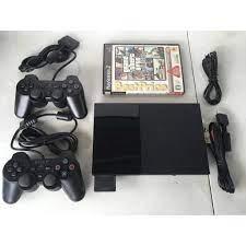 Máy PS2 ( Playstation 2 ) Ổ Cứng 500GB List Game Hơn 8000 Đủ Phụ Kiện chính  hãng 1,400,000đ