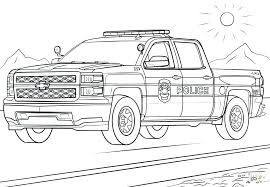 Police Coloring Pages To Print Jokingartcom Police Coloring Pages
