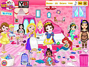 juega baby princess room cleaning en l nea y8 com