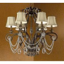 tuscany lighting. Classic Lighting Tuscany 6-Light Bronze Crystal Accent Chandelier