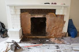 hammer & brush: Removing a Gas Fire