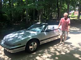 com the world s largest buick reatta parts chuck of charlotte nc and his 1990 silver convertible he s the original owner