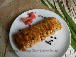 Banana Choco Cheese Strudel Sunpride Indonesia