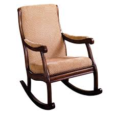 Furniture of America Antique Oak Rocking Chair - Free Shipping Today -  Overstock.com - 12642931